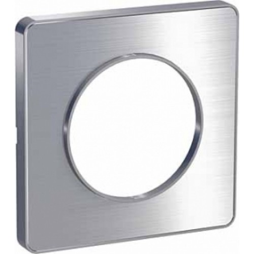 Odace Алюминий/Алюминий (пластик) Рамка 1-я Schnaider S53P802