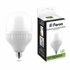 Лампа светодиодная LB-65 (60W) 230V E27-E40 4000K 25821
