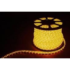 Дюралайт  LED 3WAY 50м квадр. 11х17мм 230V 72LED/м 2,88Вт/м, (2м/отрез), 2 аксесс., желтый/ LED-F3W 26068