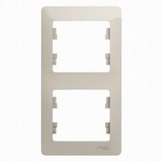 Glossa Молочный Рамка 2-ая, вертикальная GSL000906