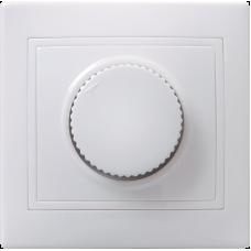 ВСР10-1-0-КБ Светорегулятор поворот КВАРТА (белый) EDK10-K01-03-DM