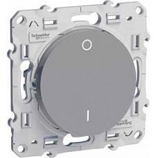 Odace Алюминий Выключатель 2-полюсный 16А S53R262