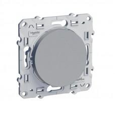 Odace Алюминий Переключатель 1-клавишный с подсветкой LED S53R263