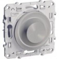 Odace Алюминий Светорегулятор поворотный 9-100ВА S53R518