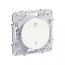 Odace Белый Выключатель 2-полюсный 16А S52R262