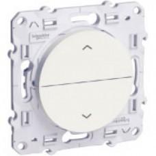 Odace Белый Выключатель жалюзи 3 позиции S52R207