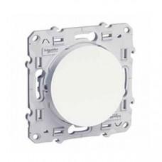 Odace Белый Выключатель кнопочный х1 S52R206