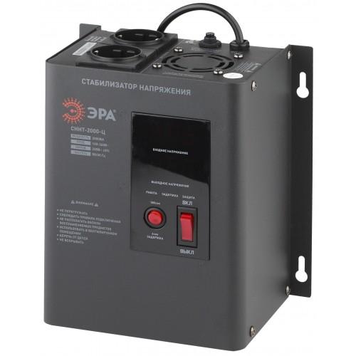 СННТ-2000-Ц ЭРА Стабилизатор напряжения настенный, ц.д., 140-260В/220/В, 2000ВА (4/72) Б0020168