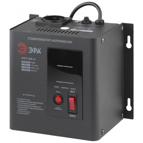 СННТ-500-Ц ЭРА Стабилизатор напряжения настенный, ц.д., 140-260В/220/В, 500ВА (4/72) Б0020165