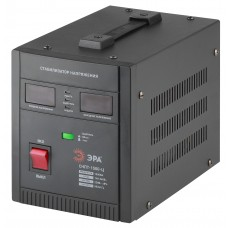 СНПТ-1500-Ц ЭРА Стабилизатор напряжения переносной, ц.д., 140-260В/220/В, 1500ВА (4/80) Б0020159