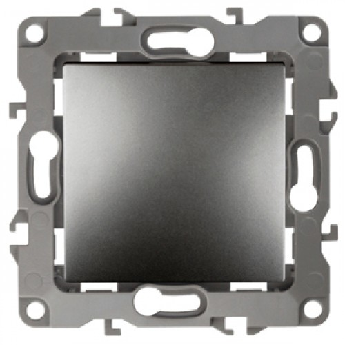 12-1103-12 ЭРА Переключатель, 10АХ-250В, Эра12, графит (10/100/2500) Б0019283