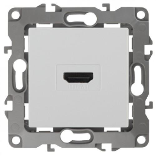 12-3114-01 ЭРА Розетка HDMI, Эра12, белый (10/100/3200) Б0027481