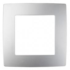 12-5001-03 ЭРА Рамка на 1 пост, Эра12, алюминий (20/200/6400) Б0014743