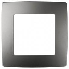 12-5001-12 ЭРА Рамка на 1 пост, Эра12, графит (20/200/5000) Б0019366