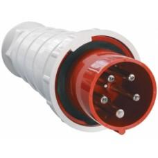 Вилка 045 3Р+РЕ+N 125А 380В IP54 ИЭК PSR02-125-5