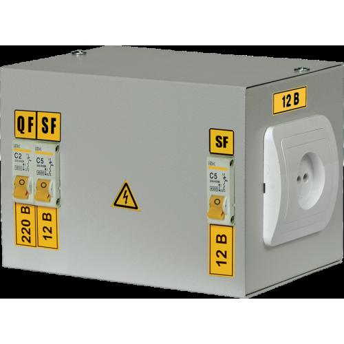 Ящик с понижающим трансформатором ЯТП-0,25 230/42-3 36 УХЛ4 IP30 IEK MTT13-042-0250