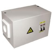 Ящик с понижающим трансформатором ЯТП 0,25кВА 220/12В (2 автомата) EKF Basic yatp0,25-220/12v-2a