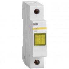 Сигнальная лампа ЛС-47М (желтая) (матрица) ИЭК MLS20-230-K05