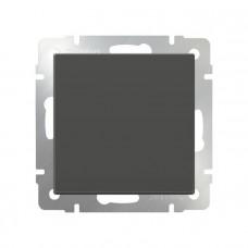 Перекрестный переключатель одноклавишный / WL07-SW-1G-C (серо-коричневый) a033770
