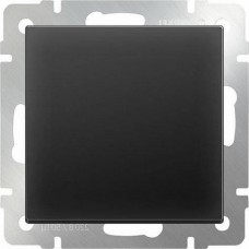 Перекрестный переключатель одноклавишный / WL08-SW-1G-C (черный матовый) a033771