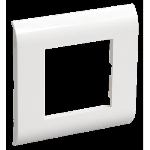 Рамка для КМКУ на 2 модуля белая IEK CKK-40D-RK2-K01