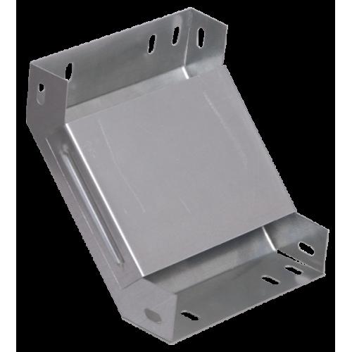 Поворот на 90 гр. вертикальный внутренний 50х150 CLP1V-050-150