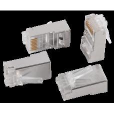 ITK Разъём RJ-45 FTP для кабеля SOLID кат.6 CS3-1C6FS