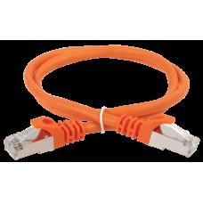 ITK Коммутационный шнур (патч-корд), кат.5Е FTP, 5м, оранжевый PC07-C5EF-5M