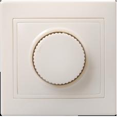 ВСР10-1-0-ККм Светорегулятор поворот КВАРТА (кремовый) EDK10-K33-03-DM
