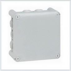 Legrand Plexo Серый Коробка распределительная, 10 выводов,IP55 130х130х74 092032