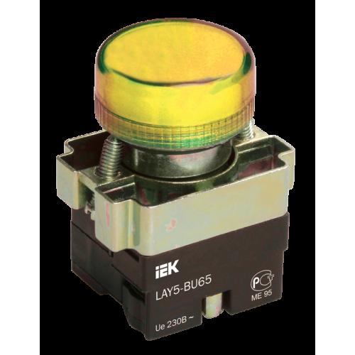 Индикатор LAY5-BU63 зеленого цвета d22мм ИЭК BLS50-BU-K06