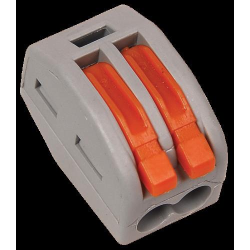 Строительно-монтажная клемма СМК 222-412 (4 шт/упак) IEK UKZ-004-412