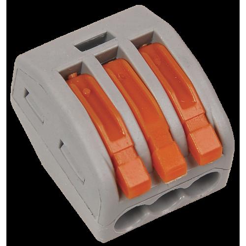 Строительно-монтажная клемма СМК 222-413 (4 шт/упак) IEK UKZ-004-413