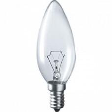 Лампа накаливания C35 свеча прозр. 40Вт E14 IEK LN-C35-40-E14-CL
