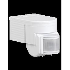 Датчик движения ДД 012 белый, макс. нагрузка 1100Вт, угол обзора 180град., дальность 12м, IP44, ИЭК LDD10-012-1100-001