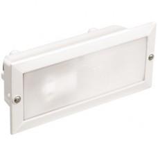 Светильник НВП3102 белый/прямоугольник без решетки 60Вт IP54 IEK LNPP0-3102-1-060-K01