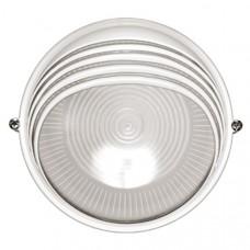 Светильник НПП1307 белый/круг ресничка 60Вт IP54  ИЭК LNPP0-1307-1-060-K01