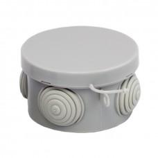 Коробка распаячная КМР-040-038 с крышкой наружная (65х40) 4 мембранных ввода IP54 EKF PROxima plc-kmr-040-038