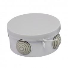 Коробка распаячная КМР-040-039 с крышкой наружная (85х40) 4 мембранных ввода IP54 EKF PROxima plc-kmr-040-039
