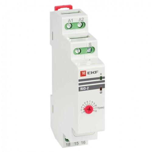 Импульсное реле с задержкой отключения RIO-2 EKF PROxima rio-2