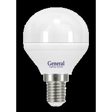 Лампа светодиодная GLDEN-G45F-7-230-E14-4500 640700