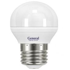 Лампа светодиодная GLDEN-G45F-7-230-E27-4500 639800