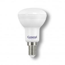 Лампа светодиодная GLDEN-R50-7-230-E14-4500 1/10/100 648600
