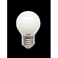 Лампа светодиодная GLDEN-G45S-M-8-230-E27-2700 654500