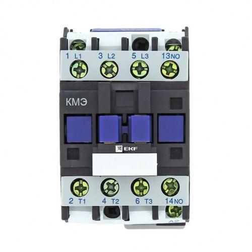 Контактор КМЭ малогабаритный 12А 400В 1NO EKF Basic ctr-s-12-400-basic