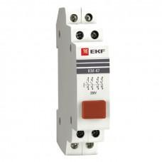 Кнопка модульная КМ-47 (красная) EKF PROxima mdb-47-red-pro