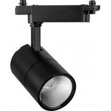 AL103 Светильник трековый светодиодный на шинопровод 30W, 2400 Lm, 4000К, 35 градусов, черный 29649