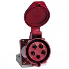Розетка стационарная наружная 135 3Р+РЕ+N 63А 380В IP67 EKF PROxima ps-135-63-380