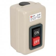 Выключатель кнопочный с блокировкой ВКИ-230 16А 3P IP40  EKF PROxima vki-230