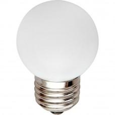 Лампа светодиодная LB-37 5LED(1W) 230V E27 2700K 70*45mm шарик 25878